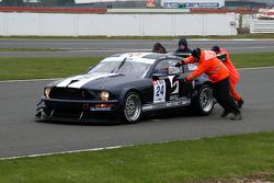 #24 Matech Mustang Racing Ford Mustang FR500C: Ron Marshalll, Romain Bera
