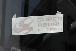Super Aguri F1 Team, sticker