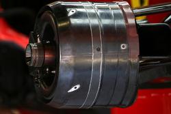 Ferrari F2008 brake system detail