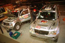 Team Fleetboard Mitsubishi Pajero