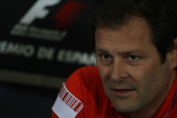 FIA press conference: Aldo Costa, Scuderia Ferrari, Chief Designer