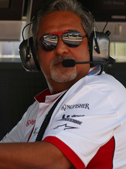 Vijay Mallya, Force India F1 Team, Owner and Kingfisher CEO