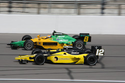 Tomas Scheckter and Will Power