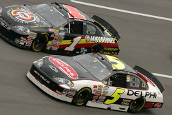 Dale Earnhardt Jr. and Mike Bliss
