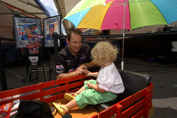 Greg Anderson meets a young fan