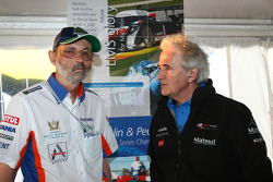 Henri Pescarolo and Hugues de Chaunac