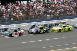 Dale Earnhardt Jr., Jeff Gordon and Paul Menard