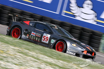 #59 Team Modena Aston Martin DBR9: Tomas Enge, Antonio Garcia