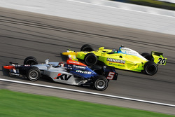 Oriol Servia and Ed Carpenter