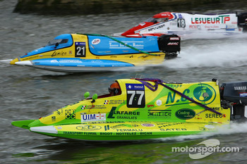 #77 Team Valle De Seine: Jean Marc Feyt, Christoph Jarnigone, Franck Lefevre, Olivier Letellier