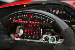 Detail of steerling wheel/dashboard