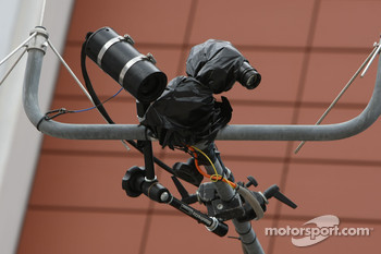 Thermal Imaging TV Camera in the pitlane