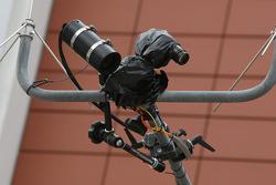 Thermal Imaging TV Camera in the pitlane