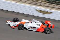 Ryan Briscoe on his first qualification run