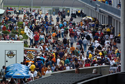 The crowd at Pole Day