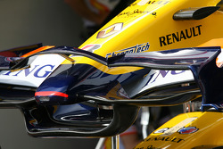 Renault F1 Team, front wing detail