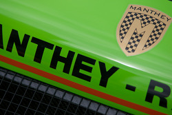 Detail of the Manthey Racing Porsche 911 GT3 RSR