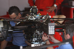FIA Working on a Scuderia Ferrari gearbox