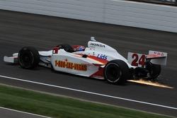 John Andretti with a full tank