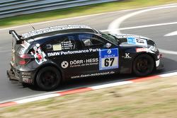 #67 BMW 130i: Heiko Hahn;Tom Robson;Kristian Vetter