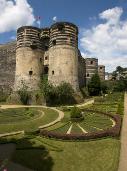 Château of Roi René in Angers
