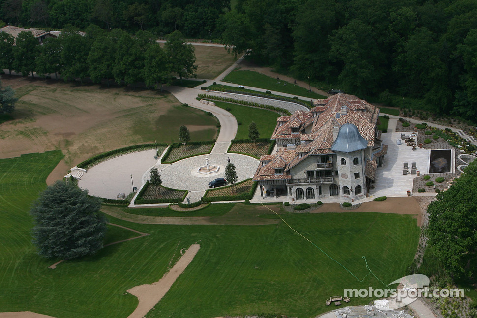 Visit of Michael Schumacher's house in Gland, Switzerland