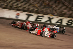 Helio Castroneves, Scott Dixon and Marco Andretti