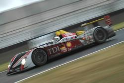 奥迪北美车队2号奥迪R10赛车:阿兰·麦克尼什、雷纳尔多·卡佩罗、汤姆·克里斯滕森