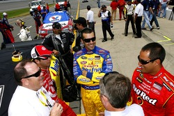 Chip Ganassi, Reed Sorensen, Dario Franchitti and Juan Pablo Montoya