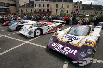 Vintage Prototype and Group C cars
