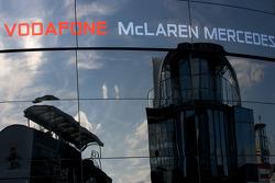 McLaren Mercedes hospitality