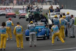 Drivers parade ambiance
