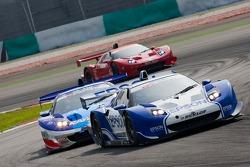 Loic Duval and Katsuyuki Hiranaka, Nakajima Racing