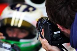 A photograph of Giancarlo Fisichella, Force India F1 Team