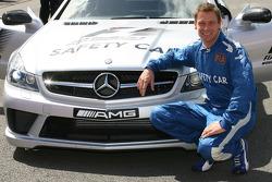 Bernd Maylander, FIA F1 and GP2 safety car driver