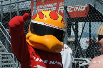 The Firestone Firehawk giving a shout out to the photographer