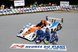 #44 Kruse Schiller Motorsport Lola Mazda: Hideki Noda, Jean de Pourtales, Jean-François Yvon