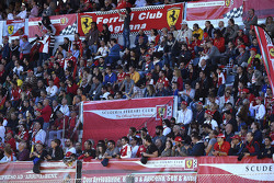 Tifosi in the grandstand