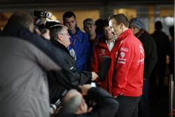 克里斯·米克,雪铁龙WRC车队,接受媒体采访