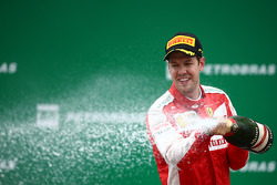 Podium: 3. Sebastian Vettel, Ferrari