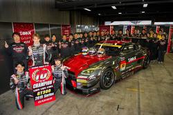 2015 GT300 Champion Andre Couto and Katsumasa Chiyo, Gainier Tanax