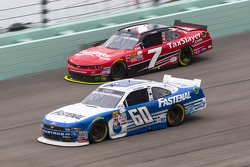 Chris Buescher, Roush Fenway Racing Ford and Regan Smith, JR Motorsports Chevrolet