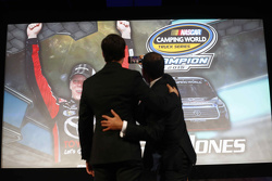 2015 NASCAR Truck Series champion Erik Jones