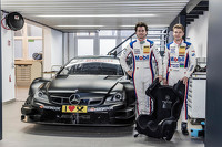 DTM Photos - Sebastian Asch and Luca Ludwig, Mercedes-AMG C 63 DTM seat fitting
