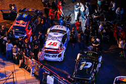 World RX cars in Rosario