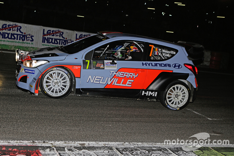 Thierry Neuville and Julien Vial, Hyundai i20