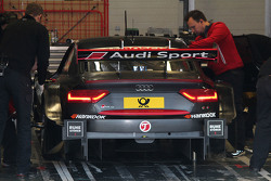 Audi RS 5 DTM Test Car steering wheel