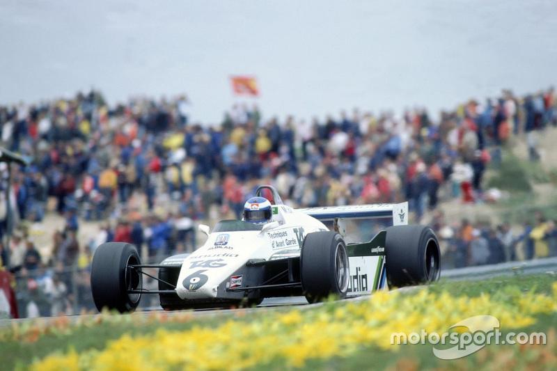 1982荷兰大奖赛中,科克·罗斯伯格收获季军,再度登上领奖台。