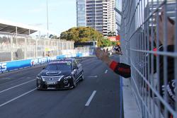 Third place Rick Kelly, Nissan Motorsports