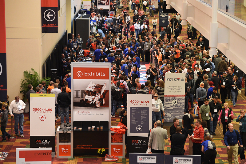 Busy Halls Of The Pri At Performance Racing Industry